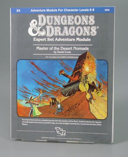 Game:X4 Dungeons & Dragons Expert Set Adventure Module: Master of