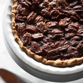 Delicious Southern Pecan Pie.