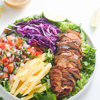 Caribbean Grilled Chicken Salad.