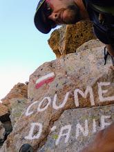 Photo: Col de Coume d'Agnel (o d'Aniel a seconda delle lingue), 2470m.