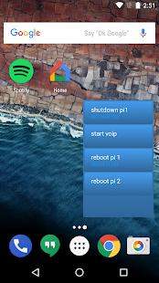 SSH button - náhled