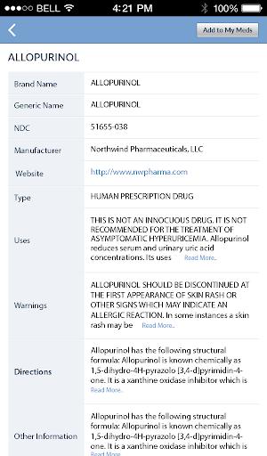Pill Identifier and Drug list 4.2 screenshots 22