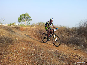 Photo: This Wheelsports rider was a few minutes behind the leaders in the 2nd loop.
