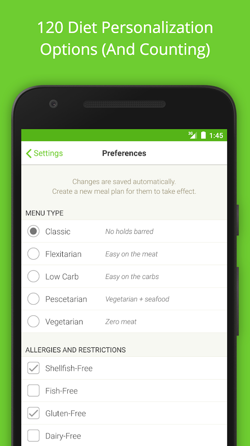 Mealime - Healthy Meal Plans- screenshot