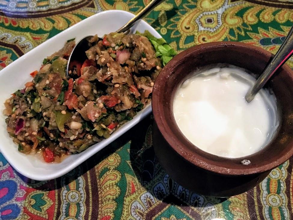 Azerbejdżan, kuchnia, Sałatka mangal