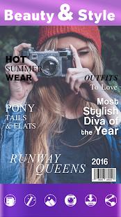 Udělejte Obálce Časopisu - náhled