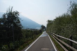 Photo: Ścieżka rowerowa wśród sadów.