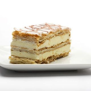 French Napoleon Pastry (Mille-Feuille).