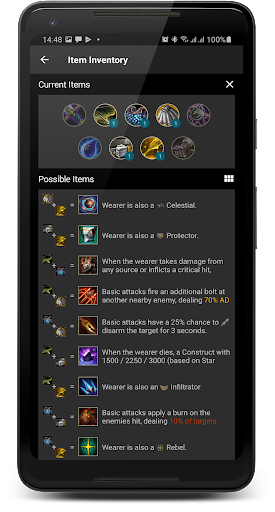 Builds for TFT Teamfight Tactics screenshots 8