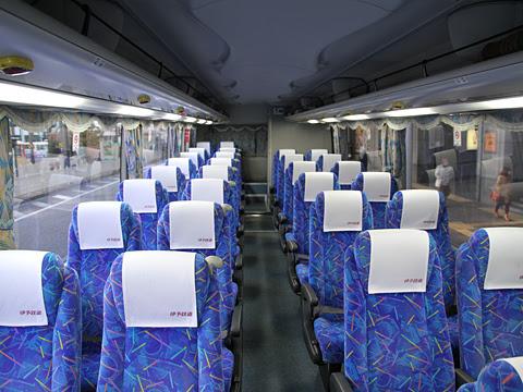 伊予鉄道「ホエールエクスプレス」 5251 車内