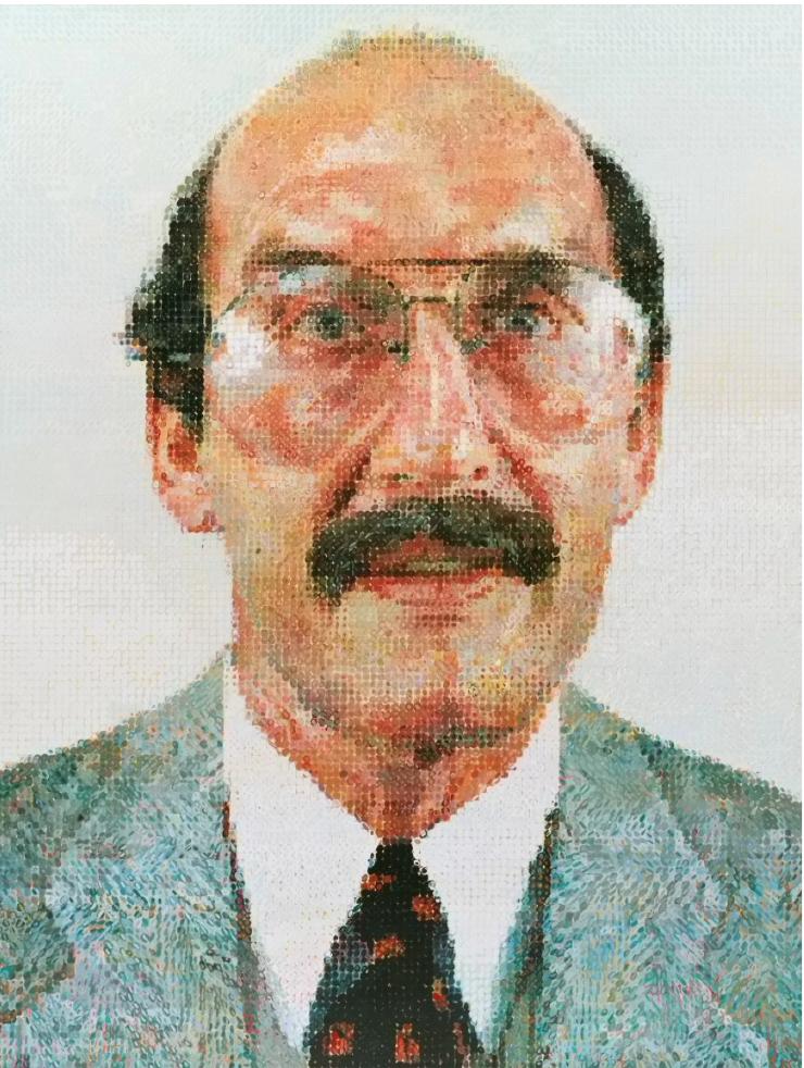 Chuck Close (b. 1940)  Stanley II