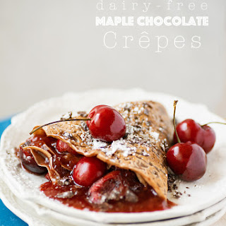 Maple Chocolate Crepes.