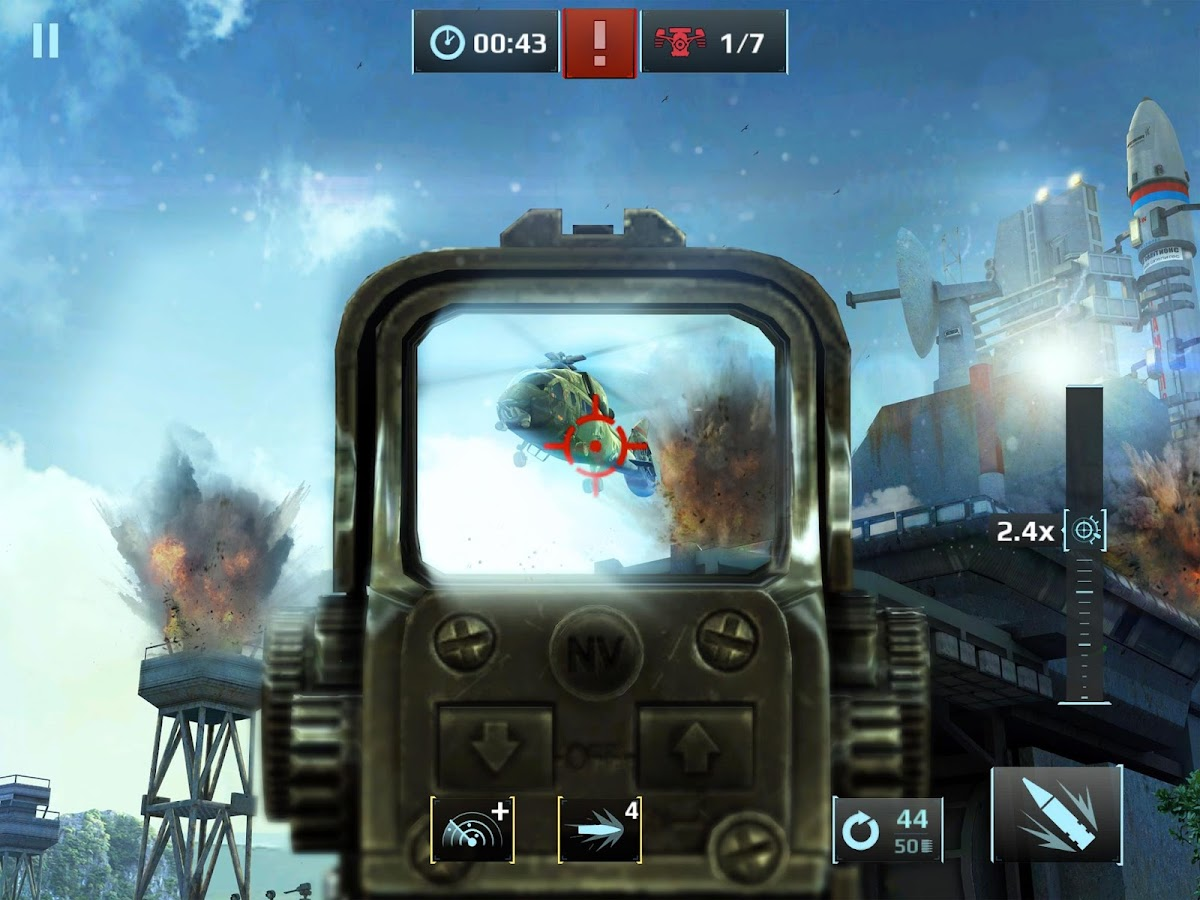 Screenshots of Sniper Fury for iPhone