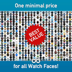 Watch Face - Minimal & Elegant Screenshot 2