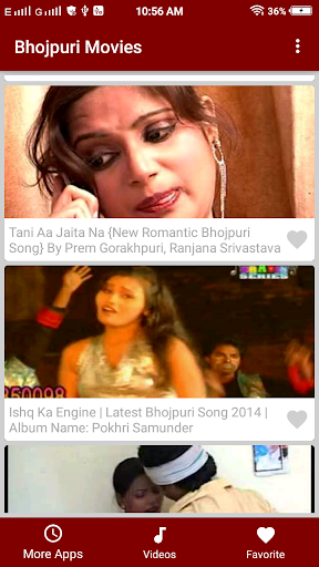 Hot Bhojpuri Video songs 1.2 screenshots 3