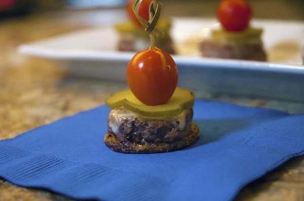 Awesome Burger Bite Appetizers Recipe