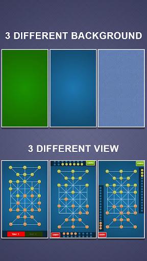 Bead 16 - Tiger Trap ( sholo guti ) Board Game ud83eudde0 1.05 screenshots 24