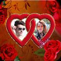 Love Heart Dual Photo Frame icon