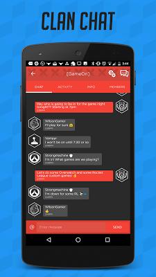 GamerLink - LFG, Clans & Chat for Gamers! - screenshot