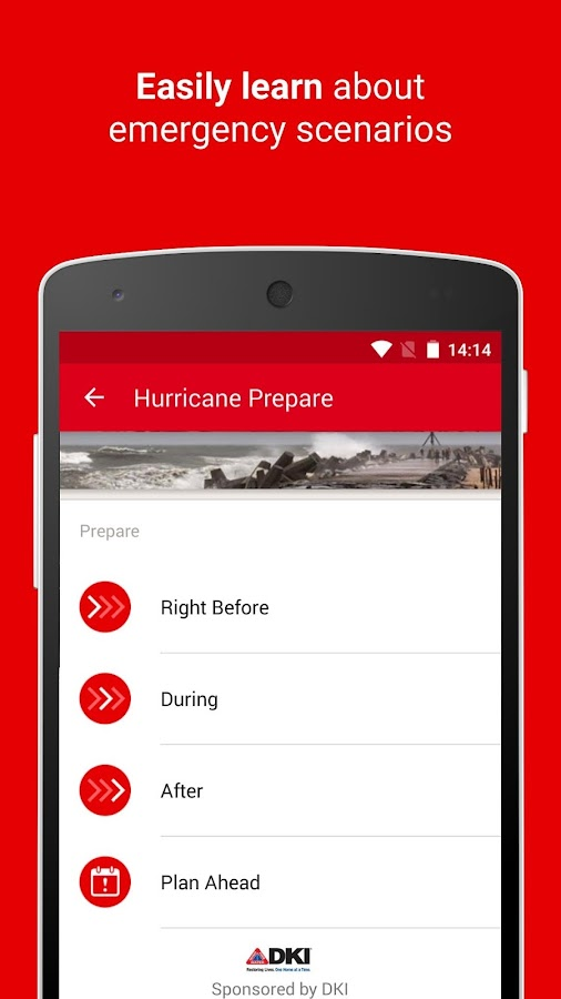 Flood - American Red Cross- screenshot