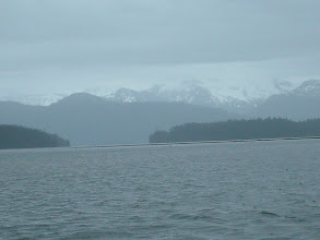 Photo: Frederick Sound looking toward LeConte Bay