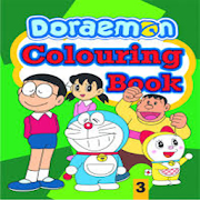 doraemon colouring book for kids - Doraemon Colouring Book