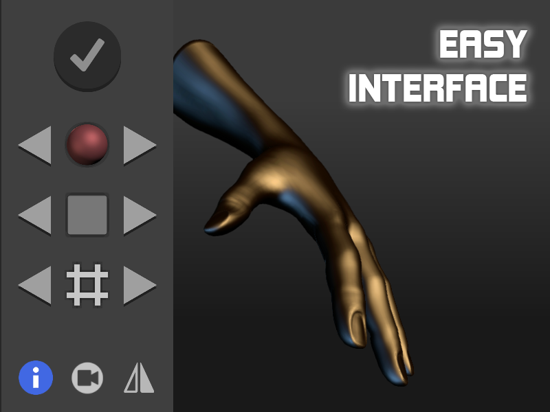 Hand Draw 3D Pose Tool- screenshot