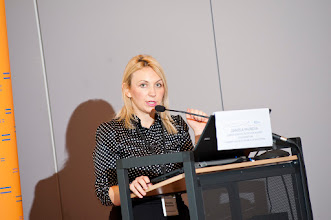 Photo: Daniela Paunova, from the Commission for the Protection against Discrimination of the FYR Macedonia