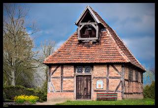 Photo: Die Fachwerkkirche in Passin entstand im 17. Jahrhundert als Nachfolgerbau einer bereits im 14. Jahrhundert genannten Kapelle. Atlas der Dorfkirchen in Norddeutschland: http://goo.gl/8Ucf53