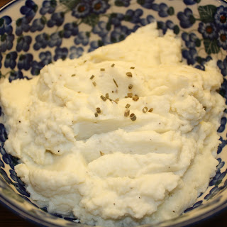 Mock Mashed Potatoes (Cauliflower) - Low Carb!