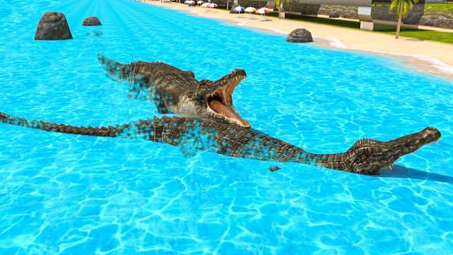 Télécharger gratuit Angry Crocodile 2020 City Attack Simulator APK MOD 2