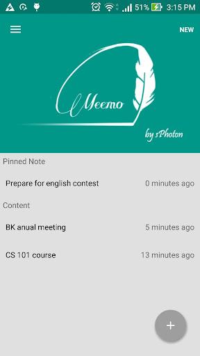 Meemo - Note app
