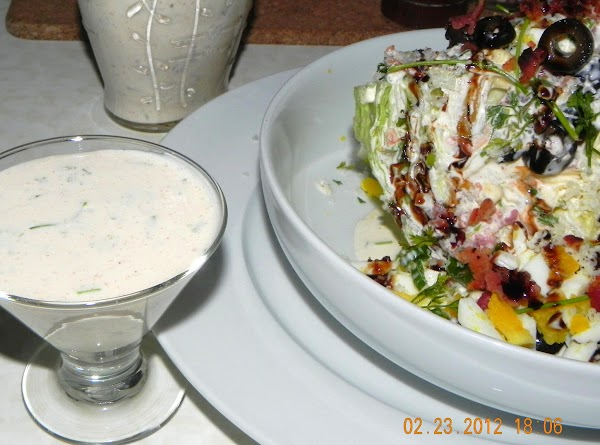 Here is a link for the dressing that I used. http://www.justapinch.com/recipes/sauce-spread/dressing/bacon-buttermilk-dressing.html?p=1