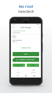DNS Changer Pro Mod Apk 1230lgr (Full Unlocked + No Root) 3
