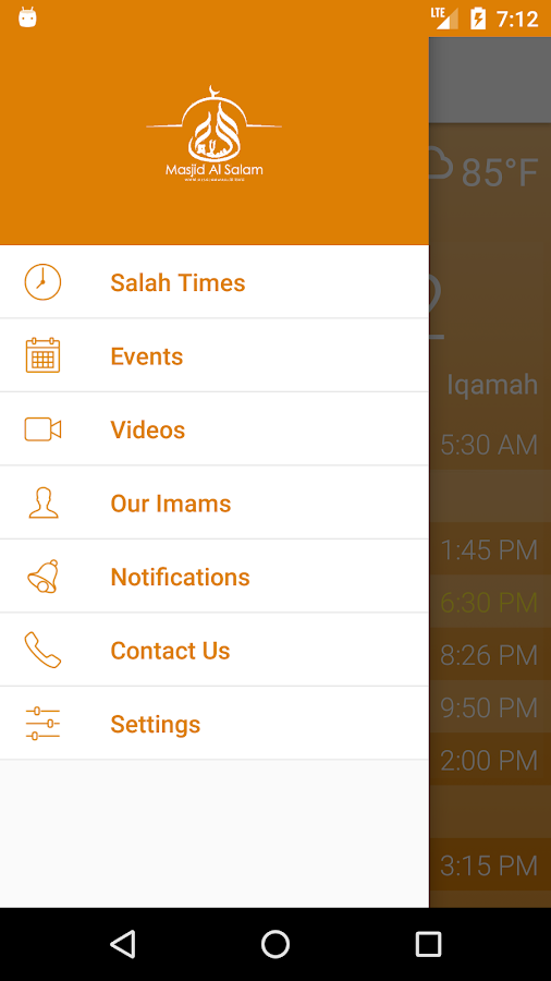 Masjid Al Salam- screenshot