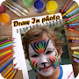 Draw In Photo Background APK icon