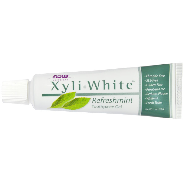 Now Foods, Solutions, Xyli-White Toothpaste Gel, Refreshmint, 6.4 oz (181 g) by Supermodels Secrets
