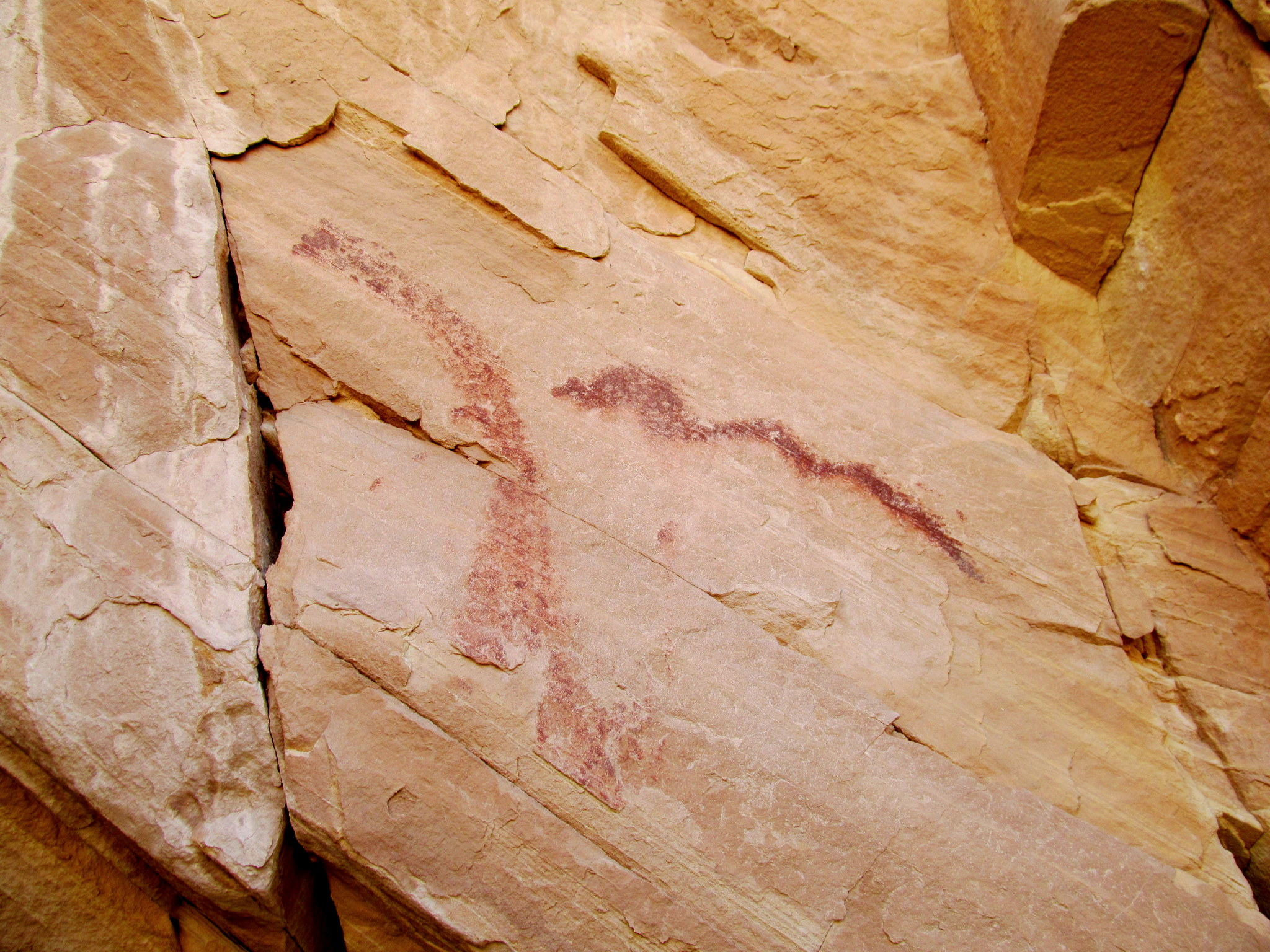 Photo: Pictographs