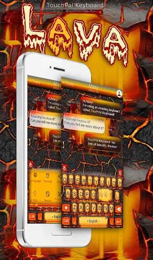 TouchPal Lava Keyboard Theme|玩個人化App免費|玩APPs