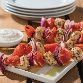 Chicken and Grapefruit Souvlaki