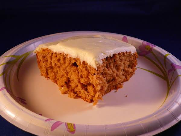Suprise Spice Cake Recipe