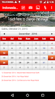 Screenshot of Indonesia Calendar 2016