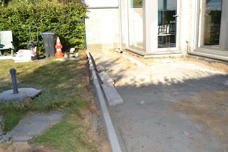 Project Herent Wijgmaalsesteenweg - coördinatie aanleg terras en oprit