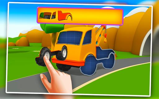 玩免費教育APP|下載キッズパズル - 自動車 app不用錢|硬是要APP