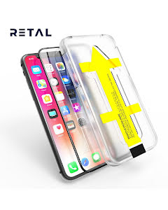 3D Full Cover Screen Protector with Easy Applicator for iPhone 11 Pro Max