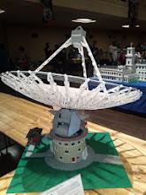 Photo: Parkes radio telescope.