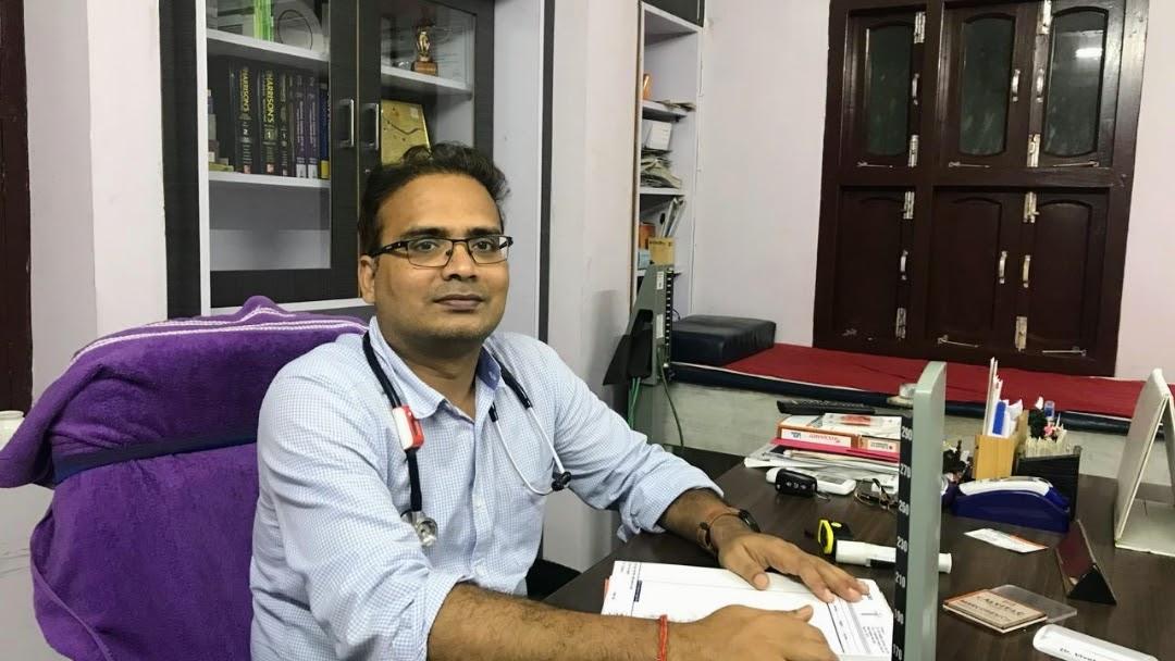 Dr Vivek Kumar MD med  ( cardiologist & Diabetologist
