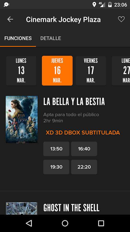 Fandango Latinoamérica- screenshot
