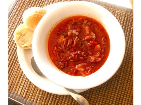 Hamburger Cabbage Soup Recipe
