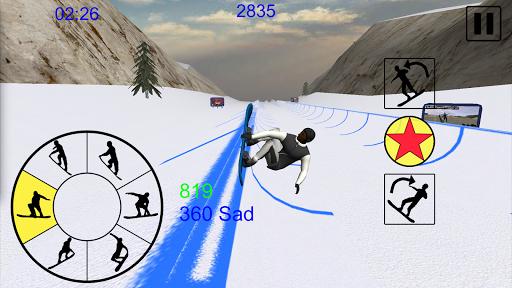 Snowboard Freestyle Mountain 1.09 Mod screenshots 3